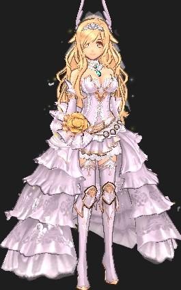 アテナのティアードドレス